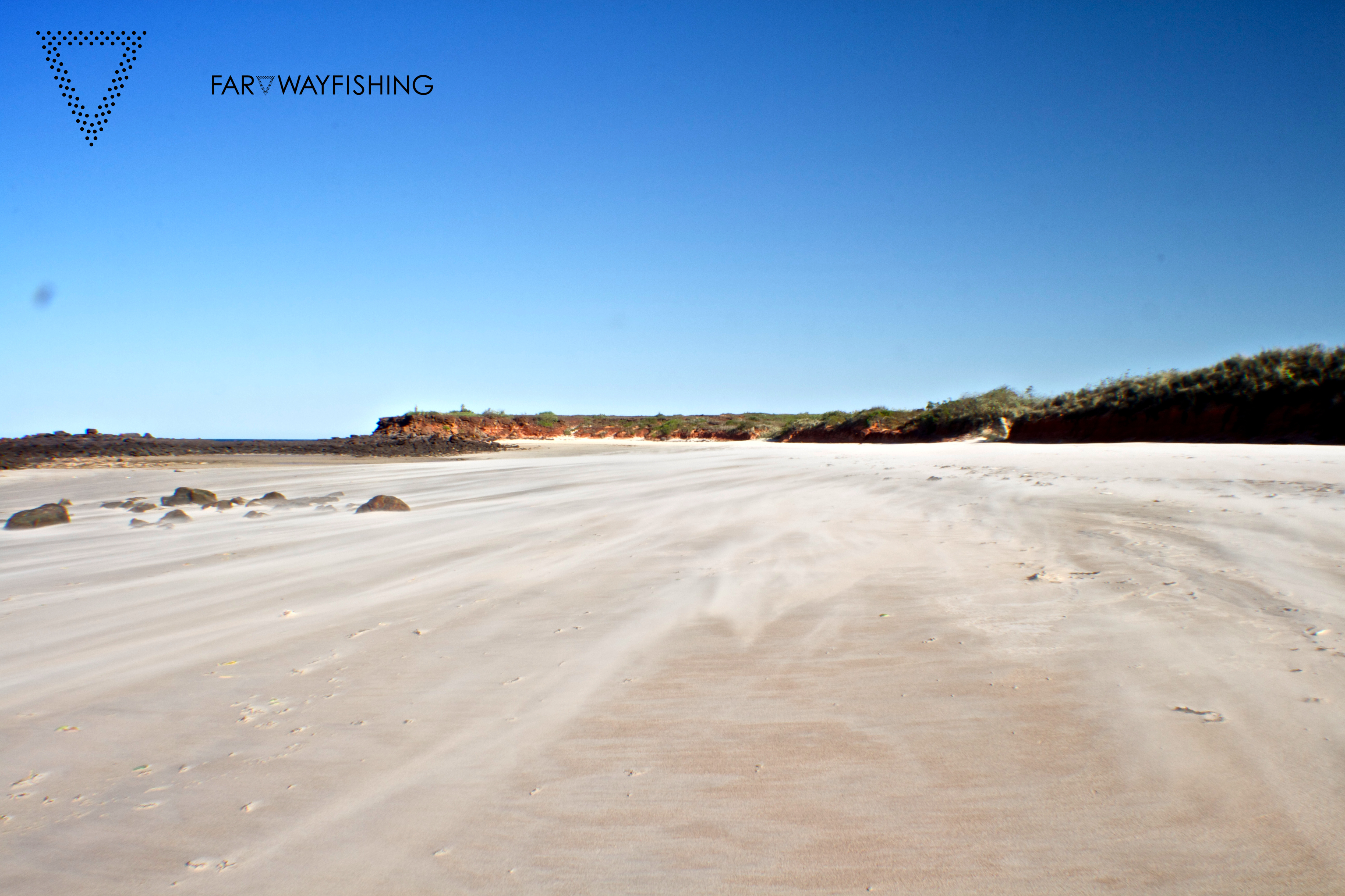 The winds of the Dampier Peninsula can be very strong in the morning